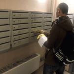 В почтовые ящики